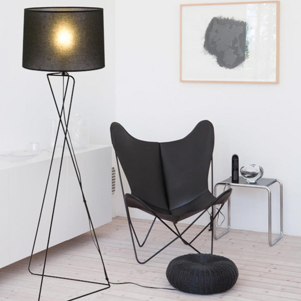 lampadaire de style scandinave. Black Bedroom Furniture Sets. Home Design Ideas