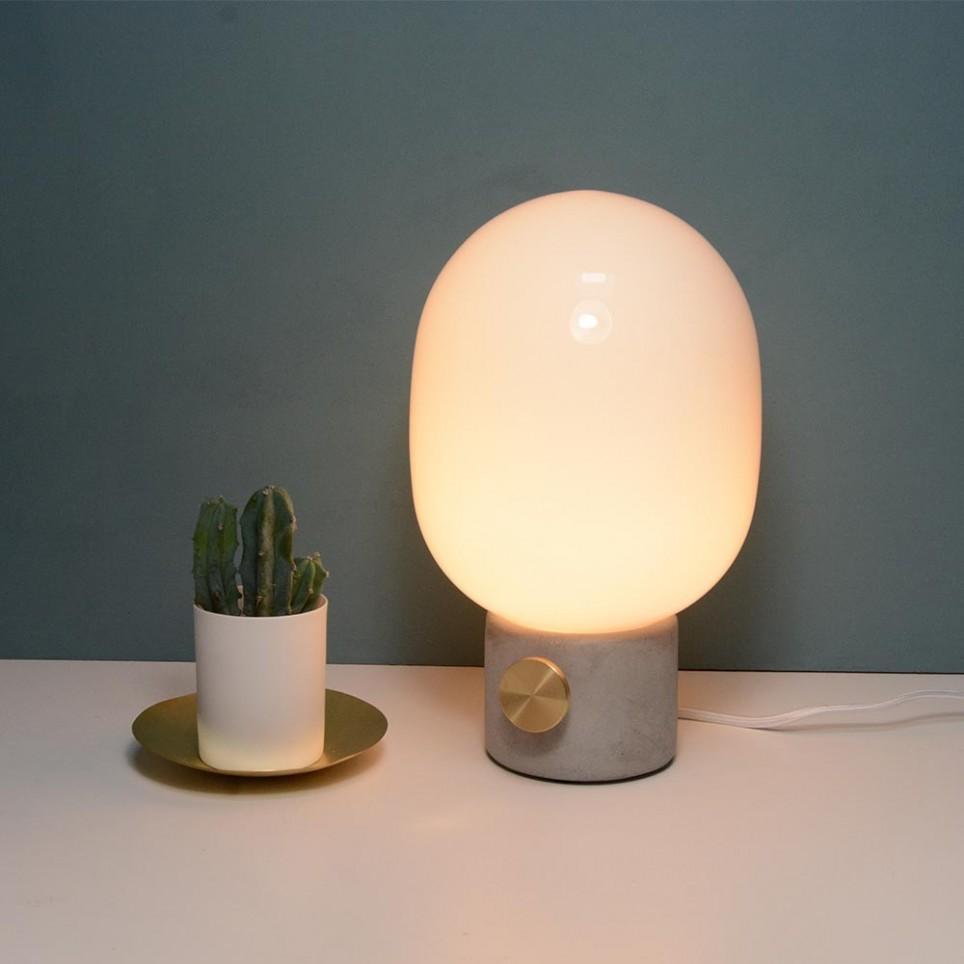 Lampe 224 Poser Design Jwda Concrete Lamp De Menu